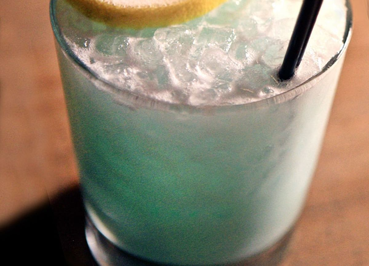 Forget Eggnog: A Blue Blender Drink Is the Holiday Cocktail You Need
