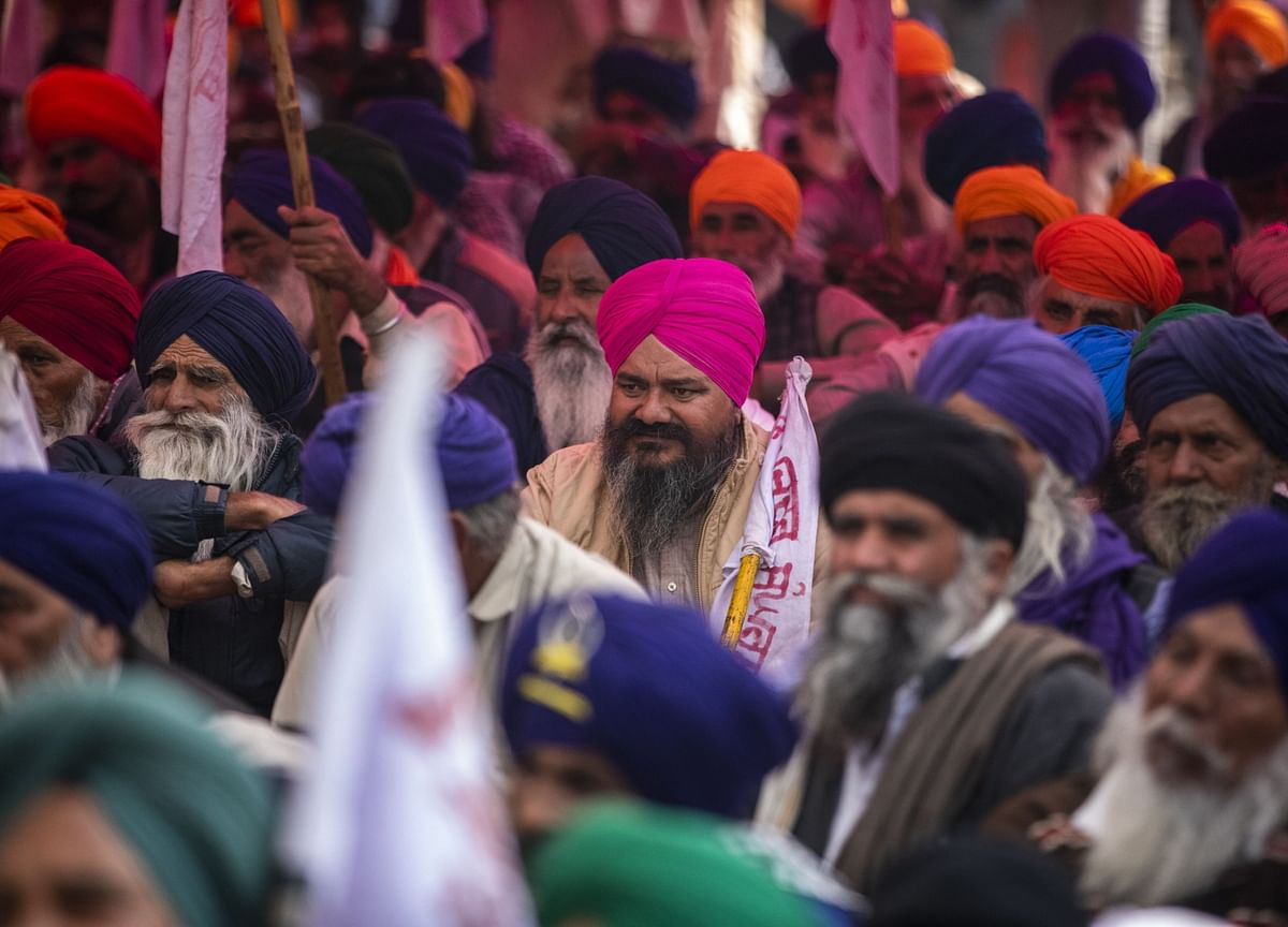 Protesting Farmers Call On People To Support  Nationwide Strike On Dec. 8