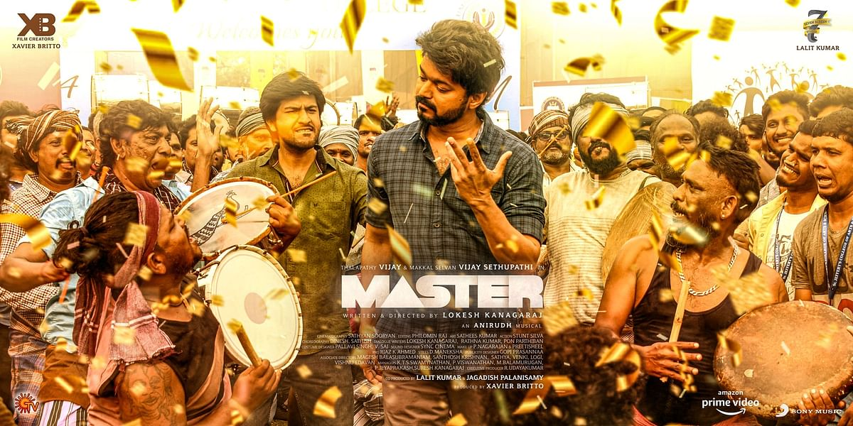 Movie poster of Master. (Source: Twitter, @XBFilmCreators)
