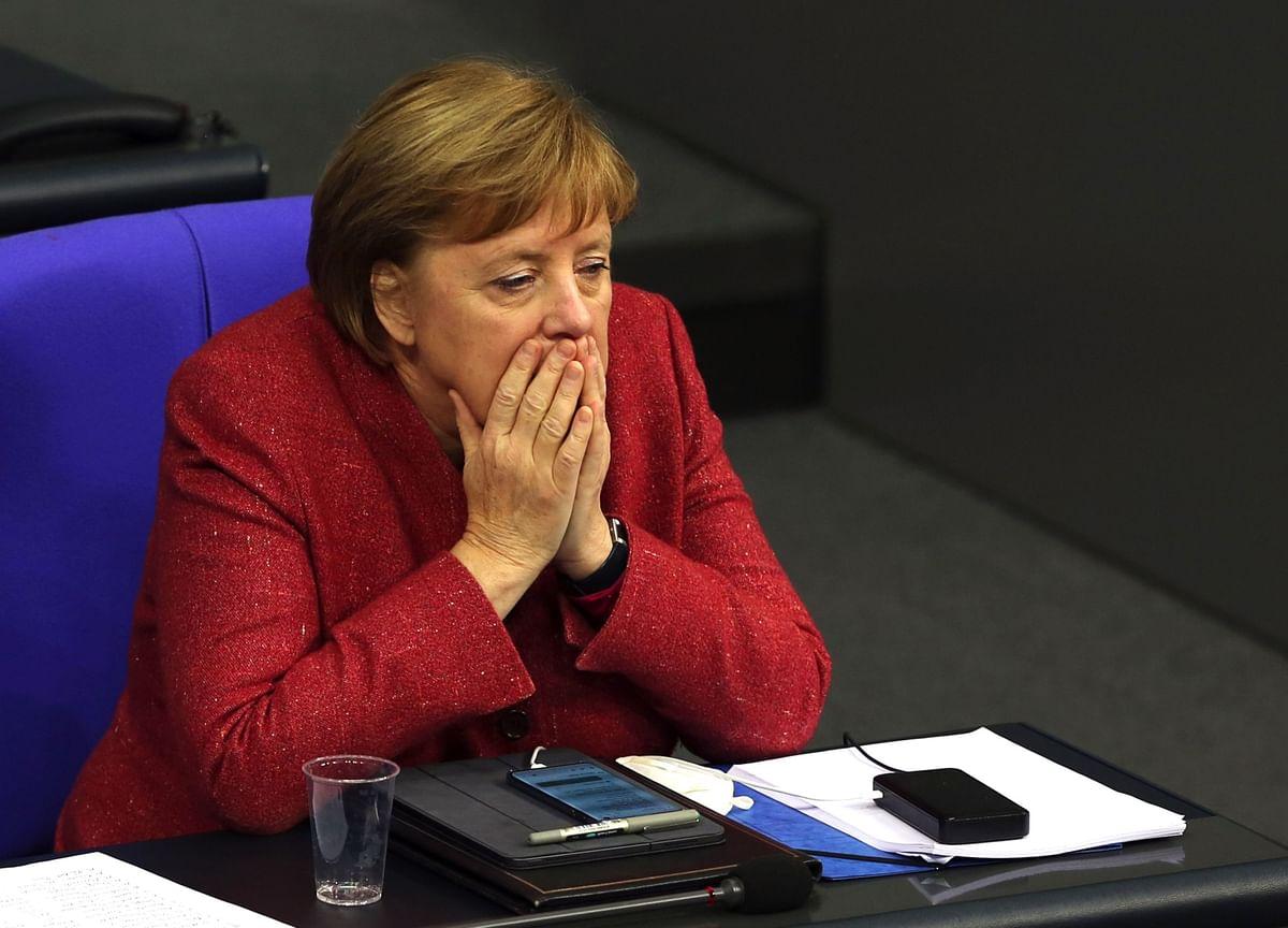 Merkel Anxious That U.K.'s Mutated Virus Will Hit Germany Hard