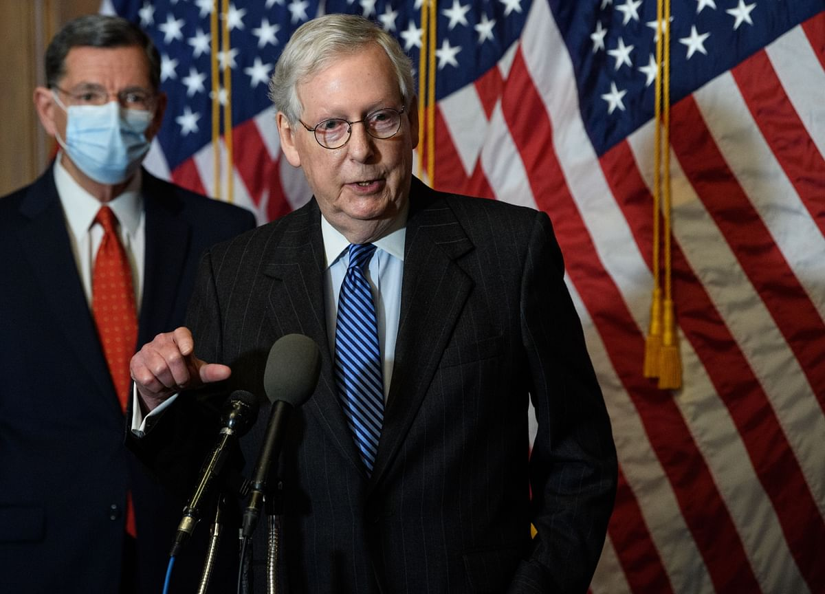 McConnell, GOP Face Splits With Trump Over Defense, Relief