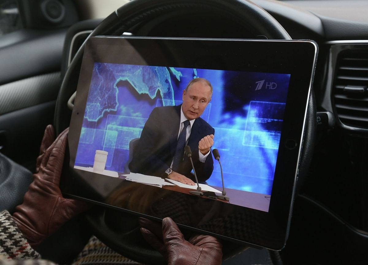 For Some in Russia's Elite, Putin's Future Is Again a Hot Topic