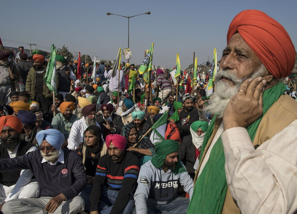 India Begins Talks With Farmers' Groups as Protests Simmer