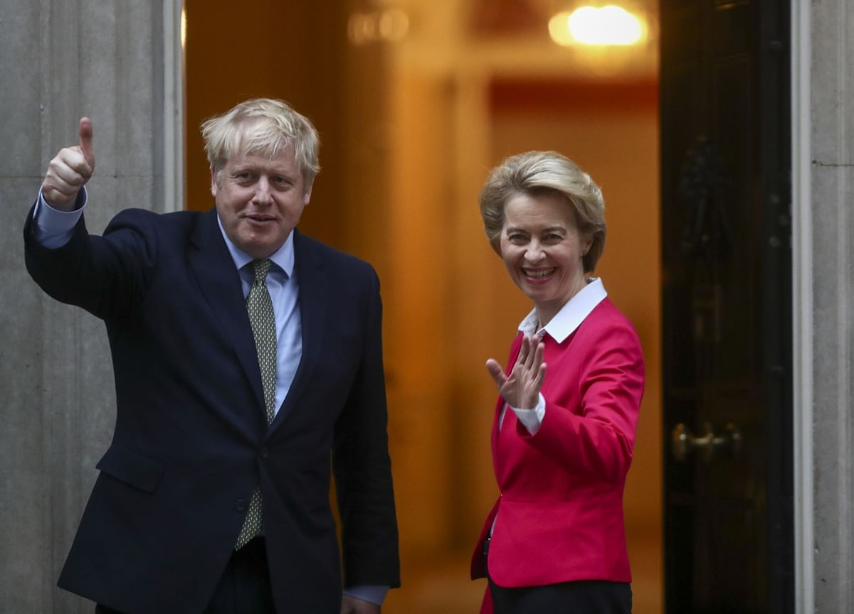 Johnson Heads Into Brussels Showdown Over Brexit Trade Deal