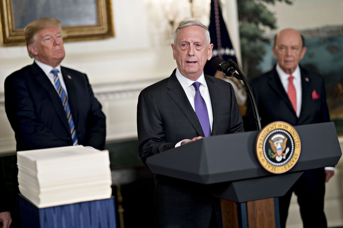 Trump Says He Will Veto Defense Spending Bill Approved by Congress