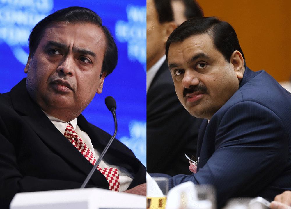 Ambani and Adani. Two Billionaires, One GreenAmbition