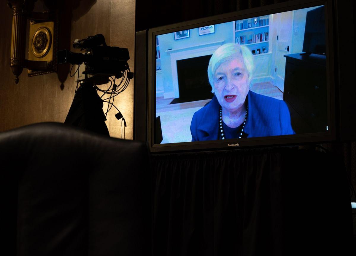 Yellen Takes Charge at Treasury With Economic Rebound Weakening