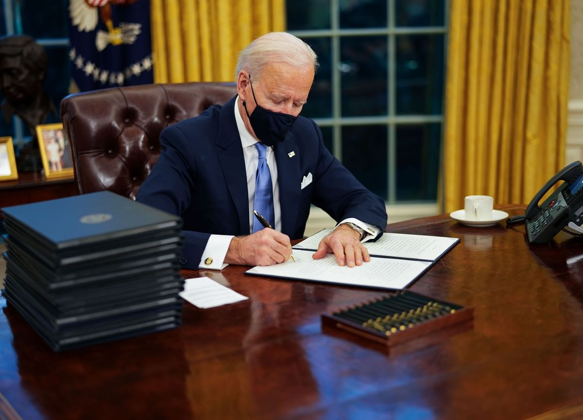 Biden's First Actions, Proposals Offer Little Compromise to GOP