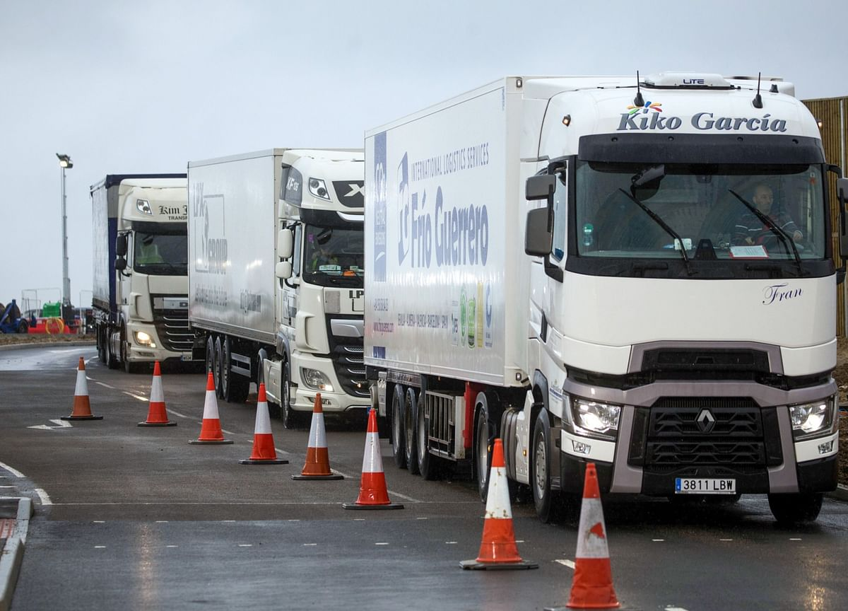 Brexit Border Trouble Grows as Key Customs System Hits Limit