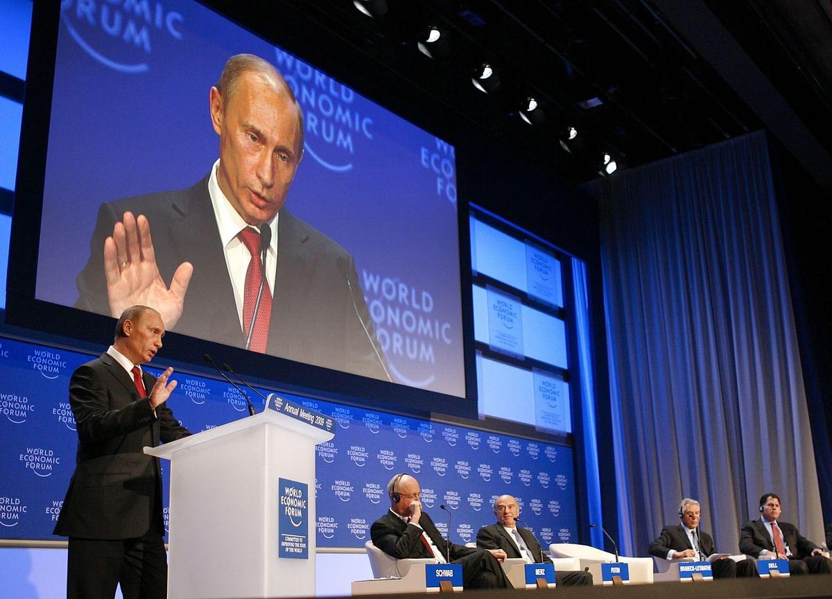 Putin Warns of Global Tensions Similar to 1930s in Davos Speech