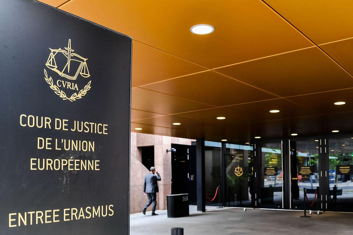 The European Union Court of Justice in Luxembourg, on July 15, 2019. (Photographer: Geert Vanden Wijngaert/Bloomberg)