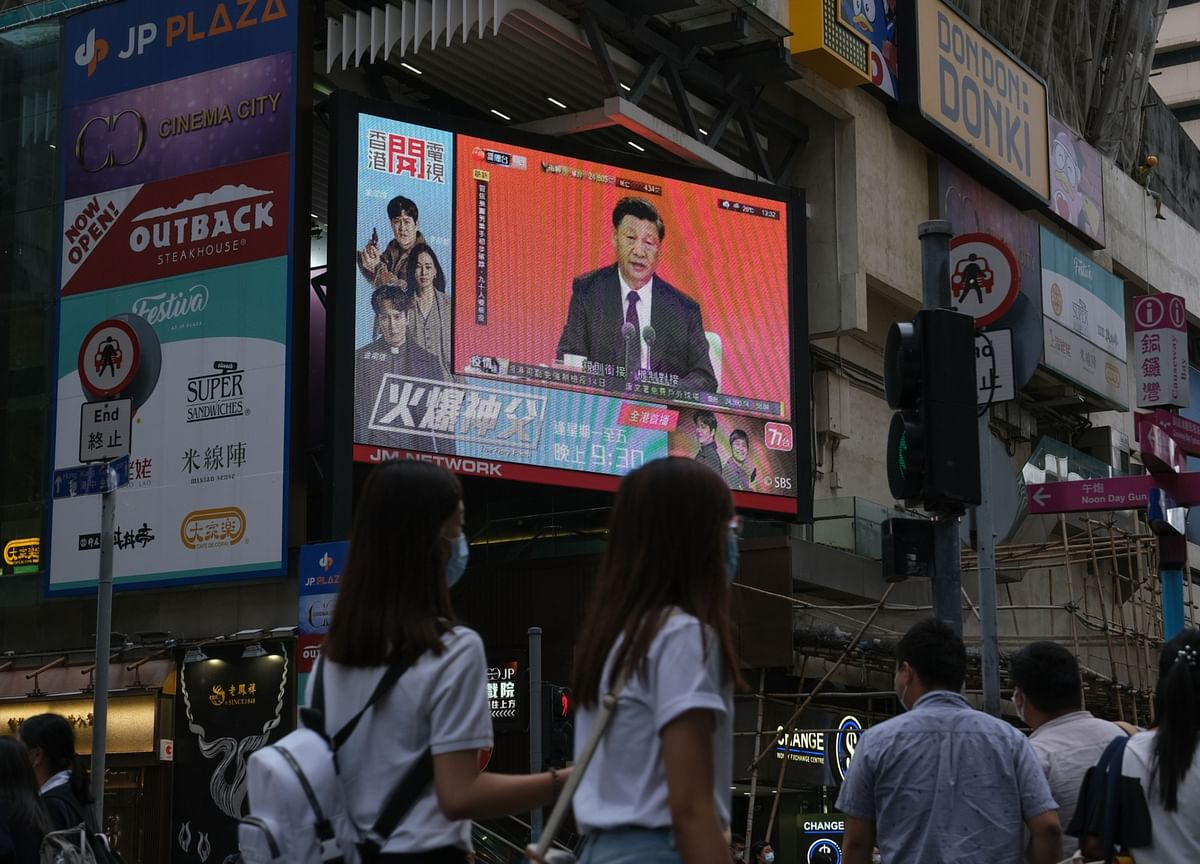 China's Xi Signals More Hong Kong Curbs With Call for 'Patriots'
