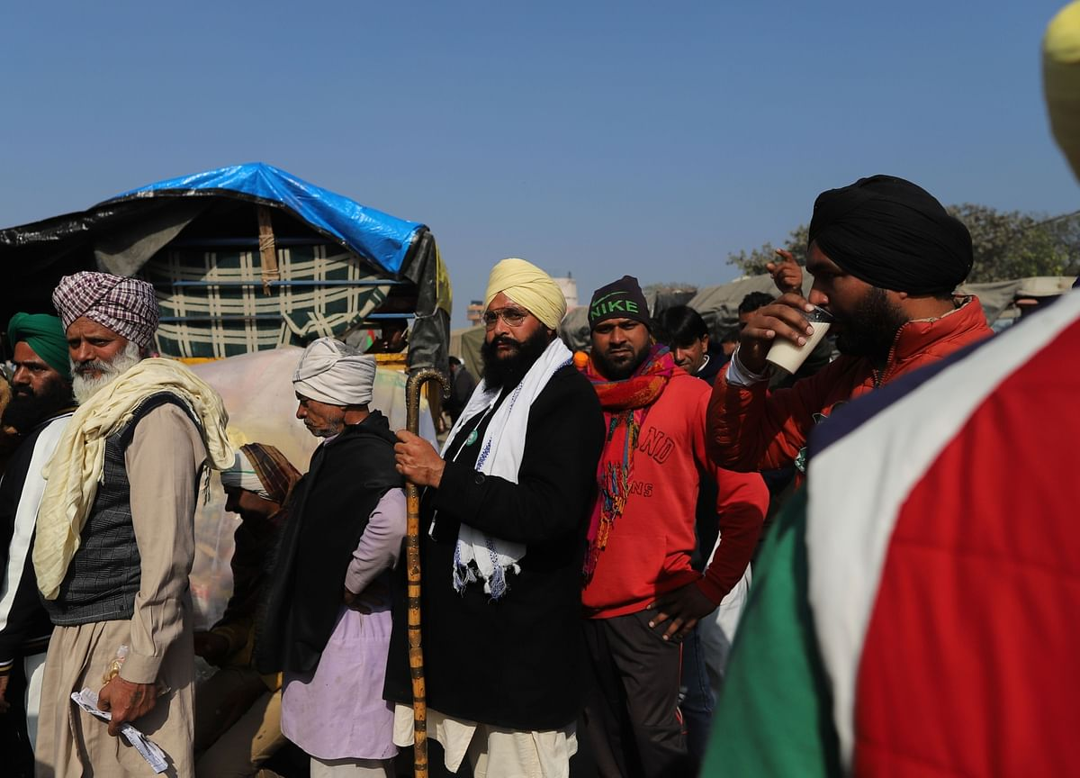 Government-Farmers' Meeting Ends; Next Round Of Talks Likely On Jan. 15
