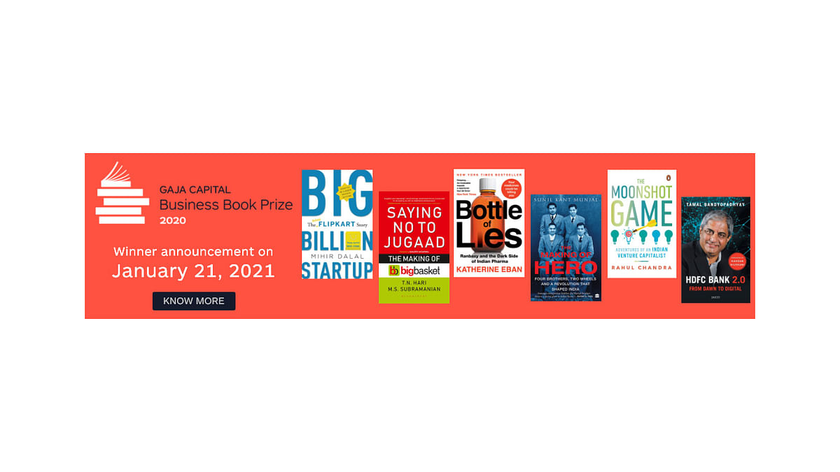 'Bottle Of Lies' Shortlisted For Gaja Capital Business Book Prize 2020