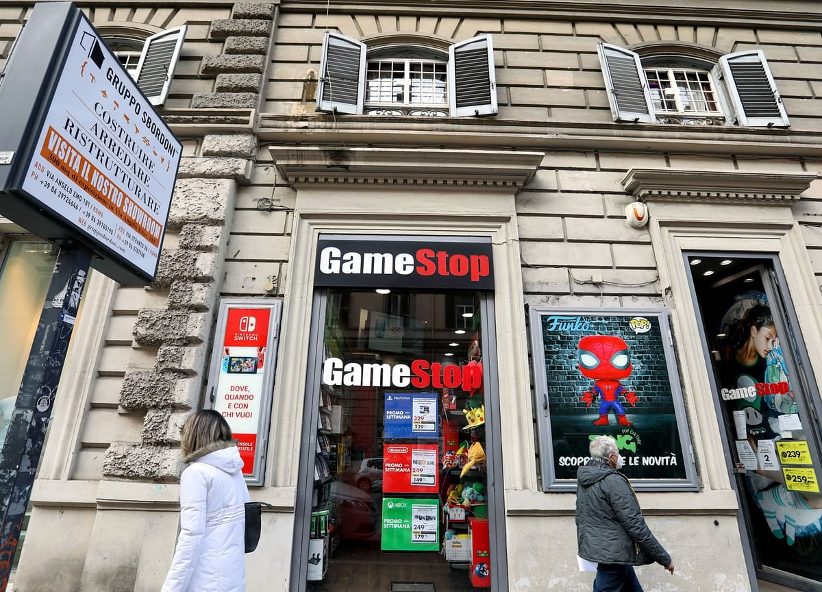 GameStop Jumps After Finance Chief Pushed Out Over Strategy
