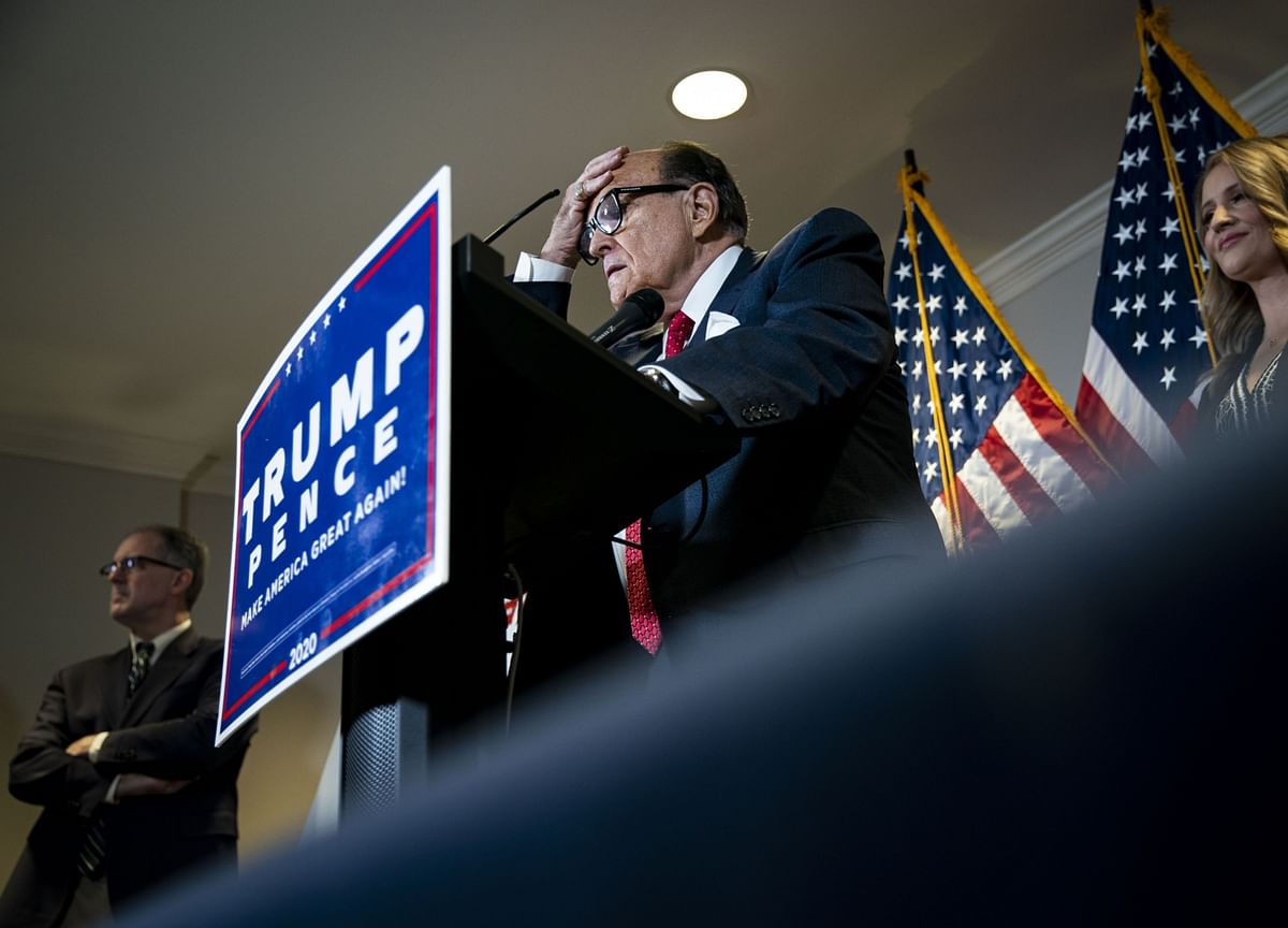 YouTube Suspends Rudy Giuliani From Ads Over Election Lies