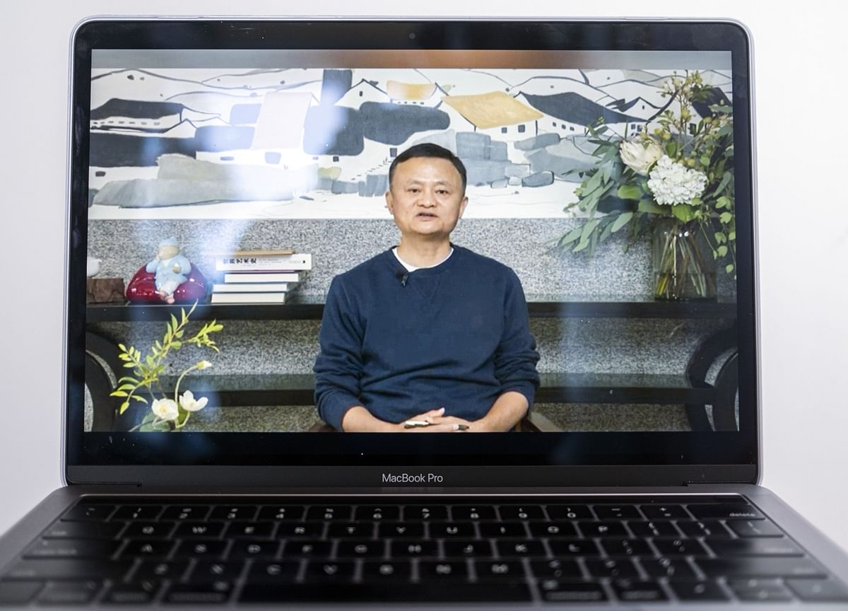 Jack Ma's Video Chat Prompts a $58 Billion Sigh of Relief