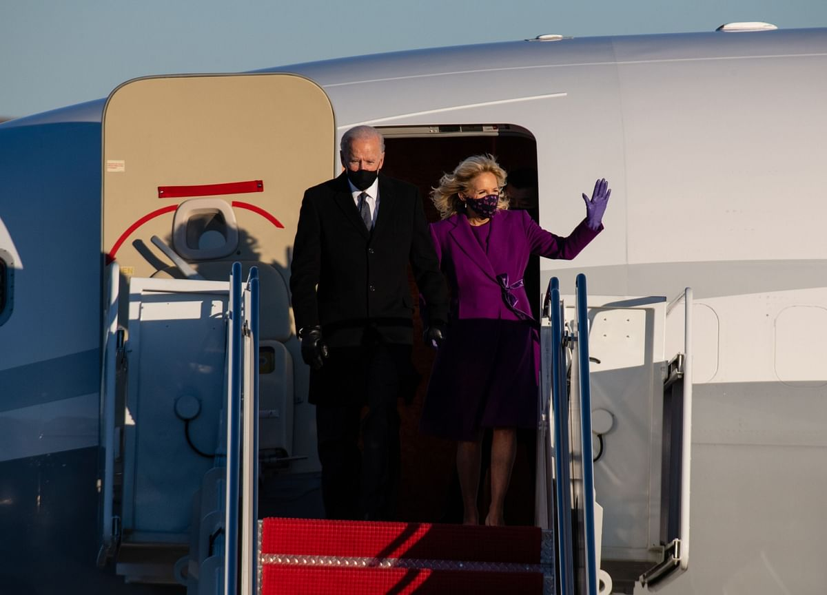Biden Arrival in Washington Framed by Division, Heavy Security