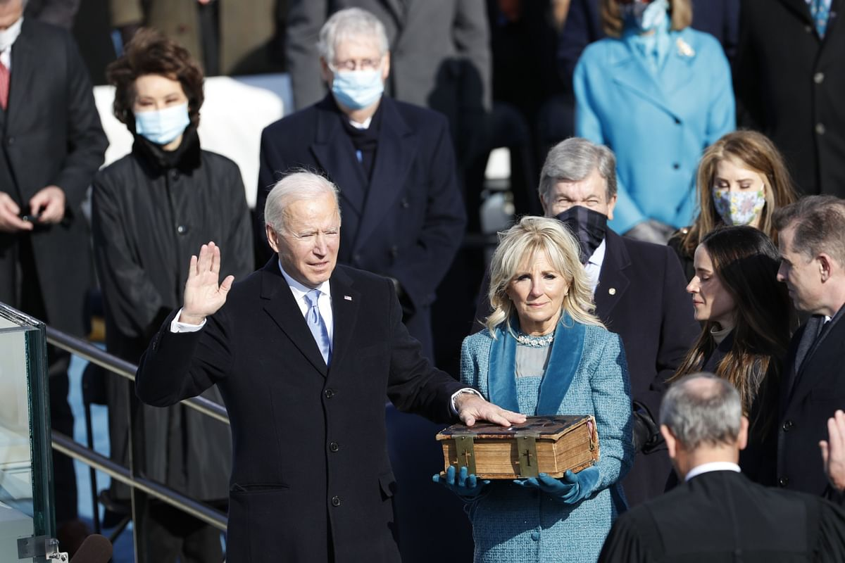 Biden Sworn In Amid Historic Challenges: 'This Is America's Day'