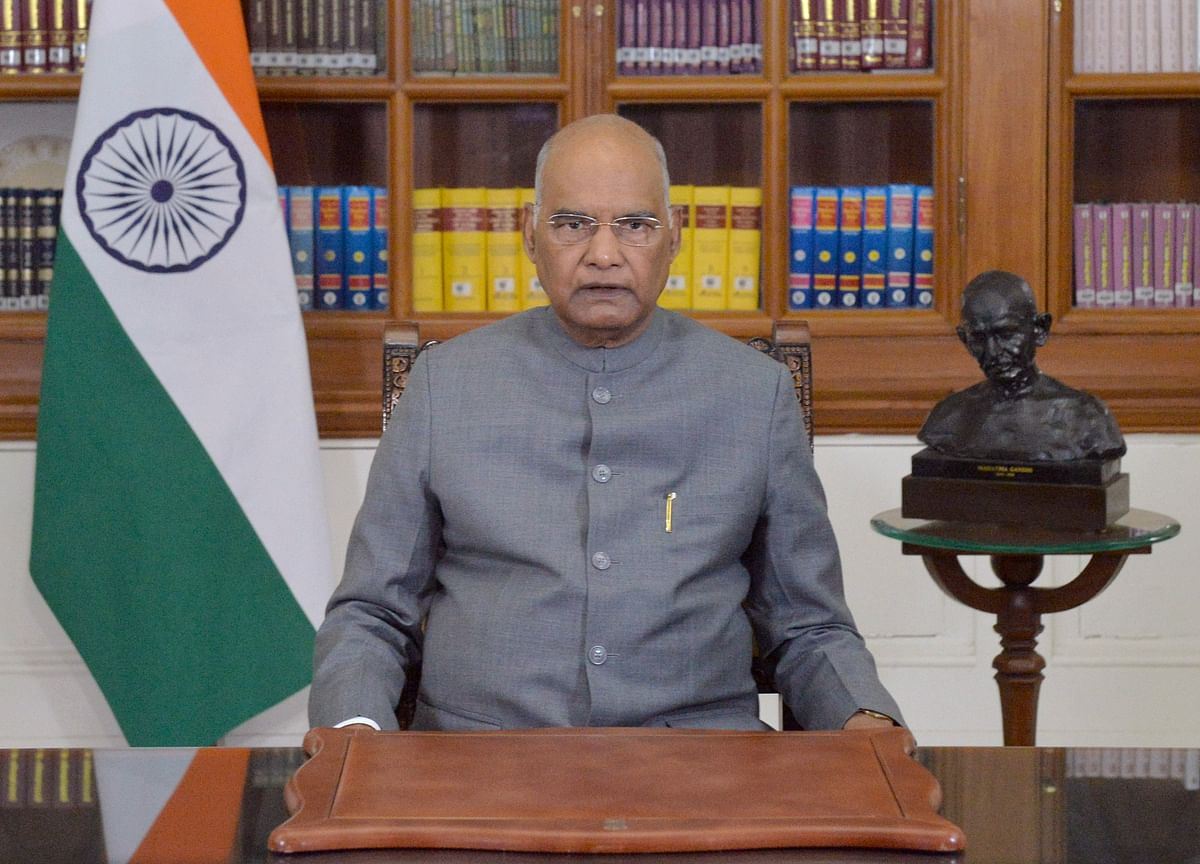 President Kovind Addresses Nation On The Eve Of Republic Day, Says Government Dedicated To Farmers' Welfare