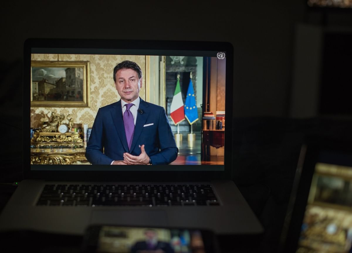 Italy's Conte Seeks Path to Retain Power After Junior Ally Quits