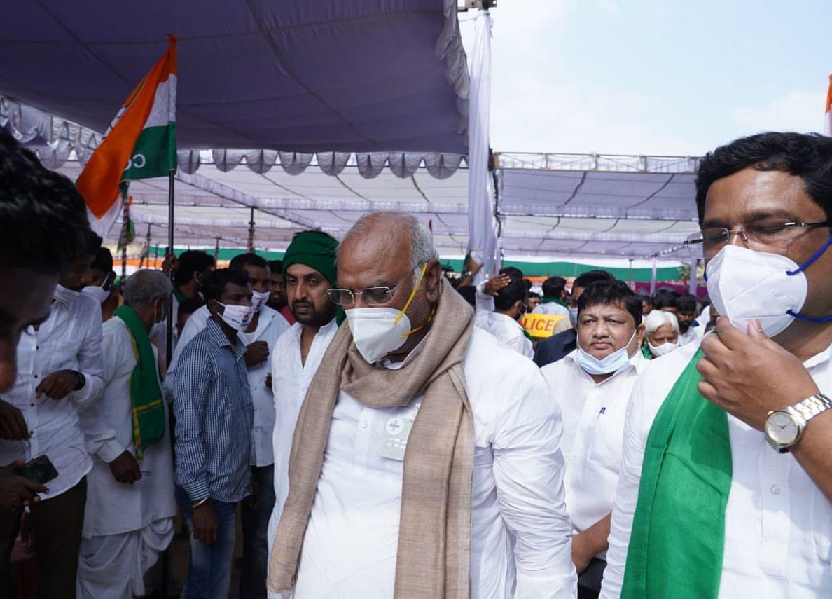 Mallikarjun Kharge Is New Leader Of Opposition In Rajya Sabha