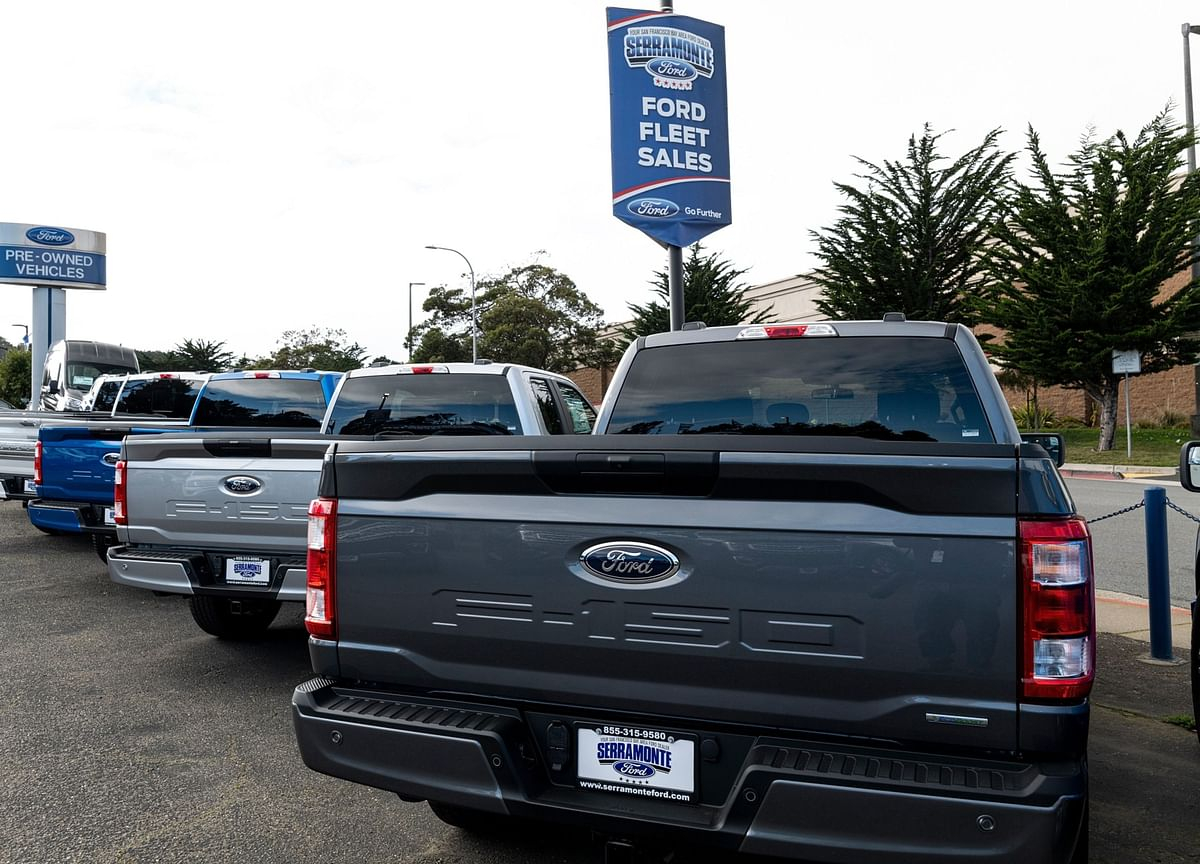 Chip Shortage Forces Ford to Cut Output of Cash-Cow F-150 Again