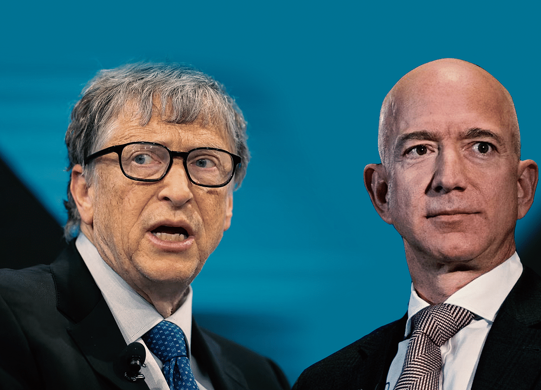 Gates Wants to Team Up More With Bezos to Combat Climate Crisis
