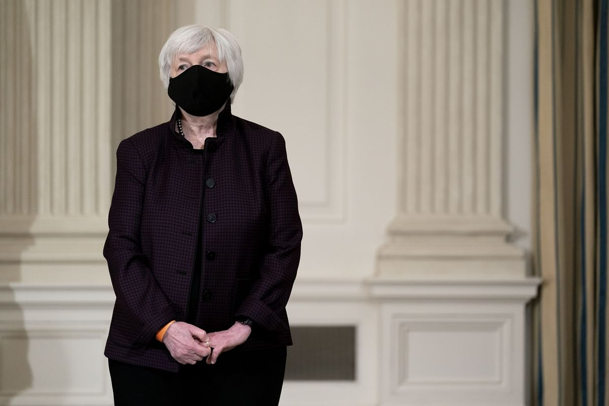 Yellen Defends Need for $1.9 Trillion Plan After Strong Data
