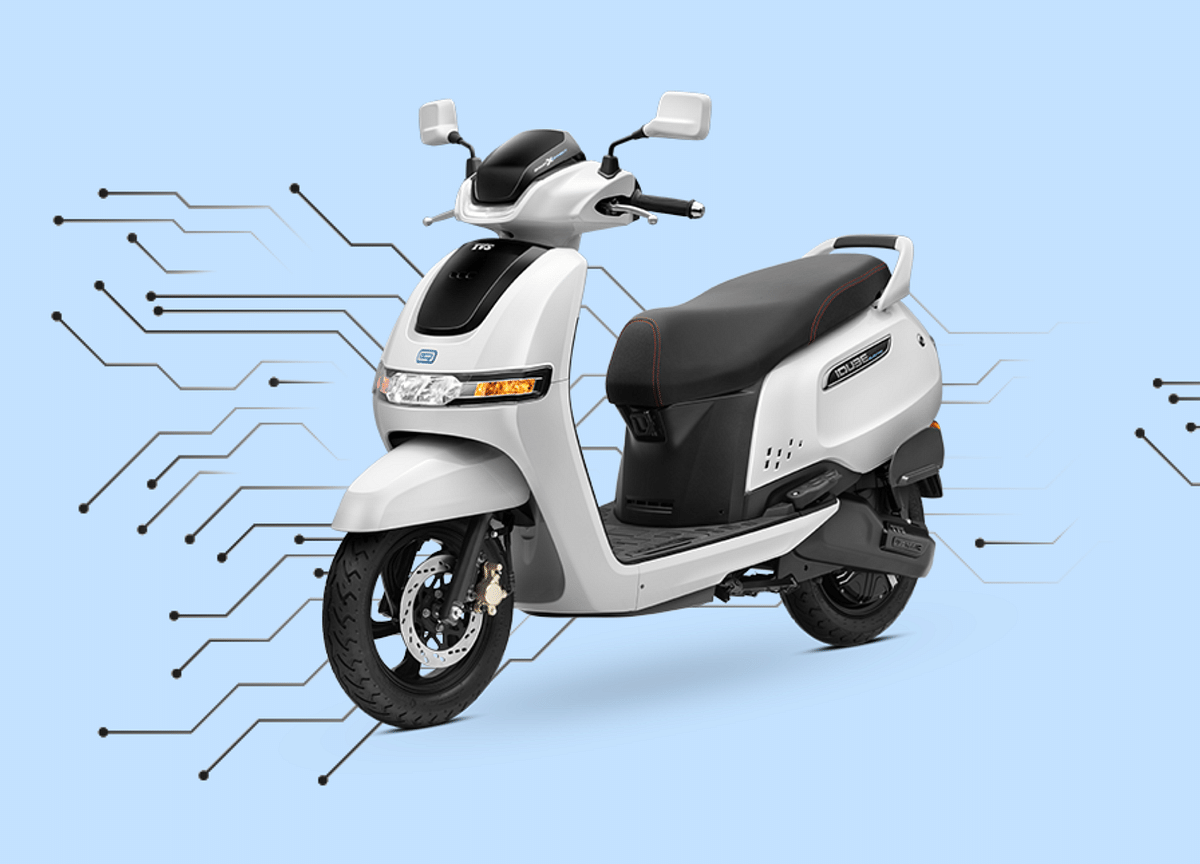 TVS Motor Launches E-Scooter iQube Electric Priced At Rs 1.08 Lakh