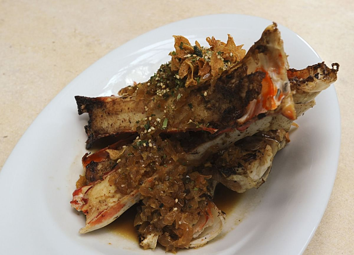 Butter Garlic Crab Is Rich Treat Inspired by Hotspot in Mumbai