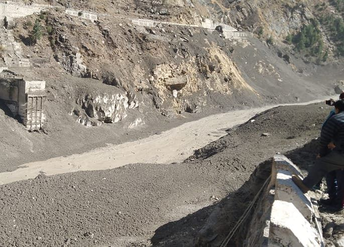 Avalanche In Uttarakhand's Chamoli District Triggers Flood, 150 Labourers Missing
