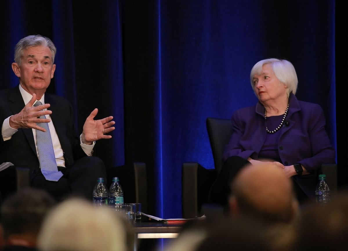 Yellen, Powell to Face Deficit, Inflation Fears at Congress