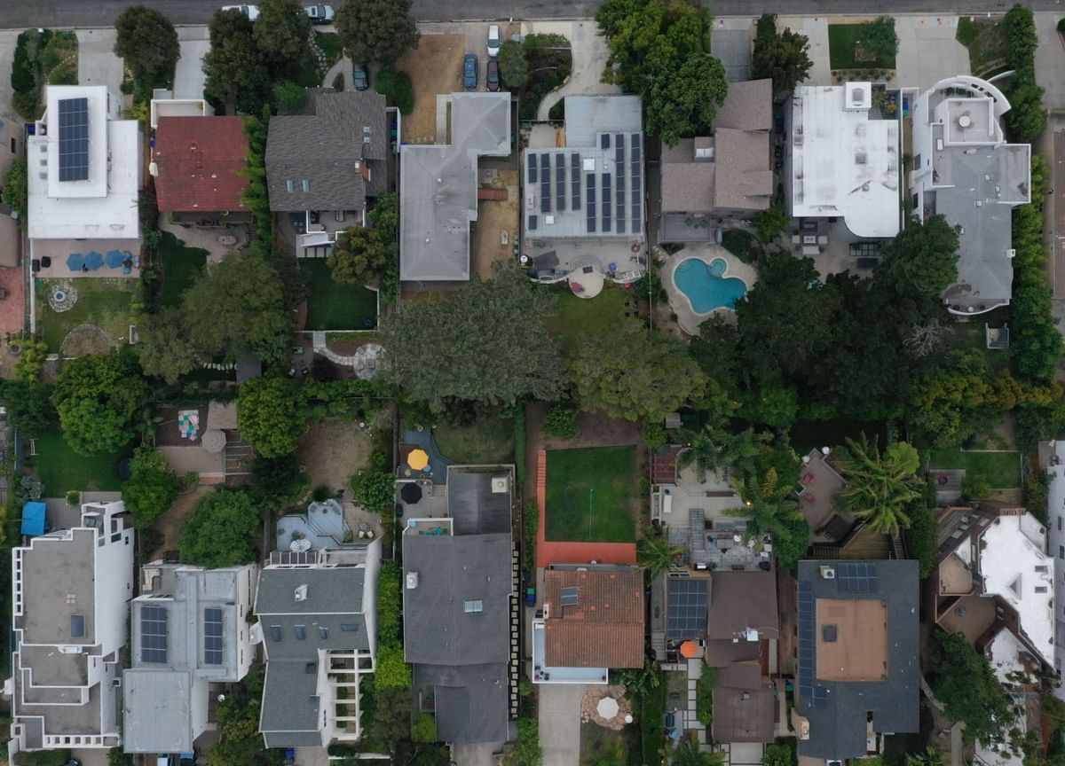 U.S. Home Prices Post Record Gain, Topping Peak From 2005