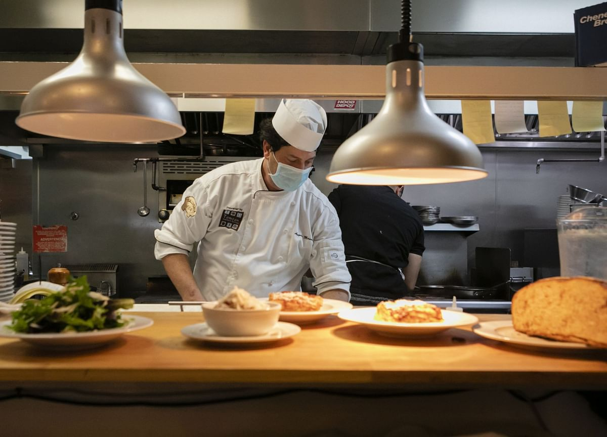 Chefs Trade Fancy Jackets for Carhartts to Cut Costs During Covid