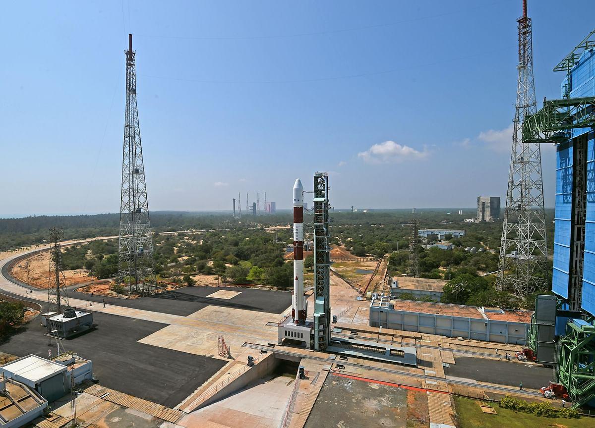 PSLV-C51 Carrying 19 Satellites Lifts Off From Sriharikota