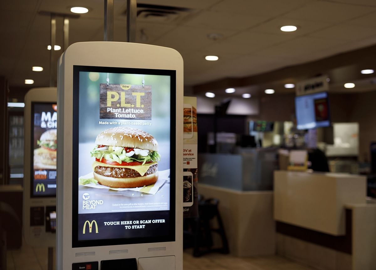 McDonald's Quietly Rolls Out McPlant Burger in Test Markets