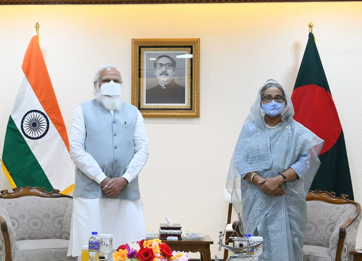 India-Bangladesh Sign Five MoUs After Modi's 'Productive Meeting' With Hasina