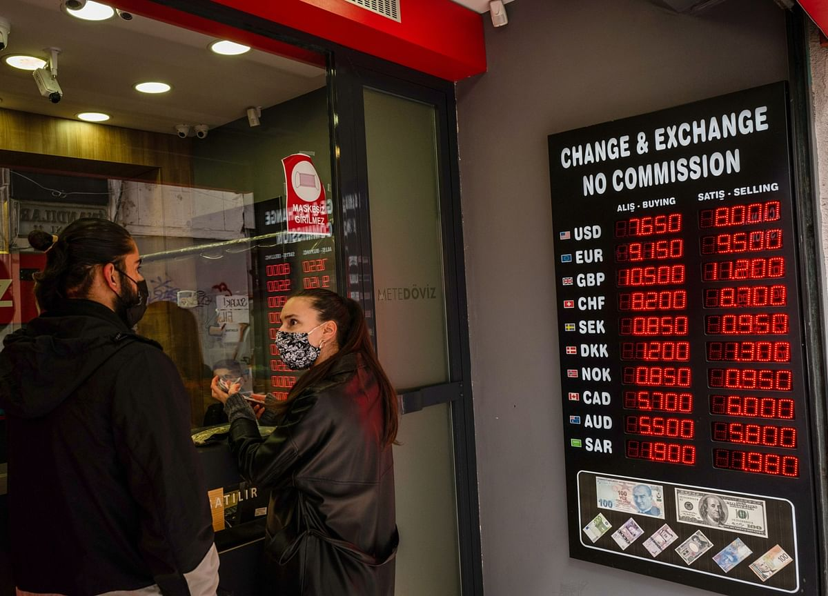 Central Bank of Erdogan Has Foreign Cash Exiting Turkey