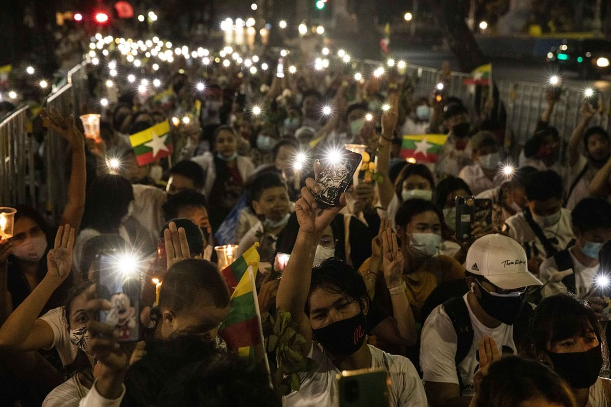 Myanmar Protesters Begin National Strike, Vow to Defeat Army