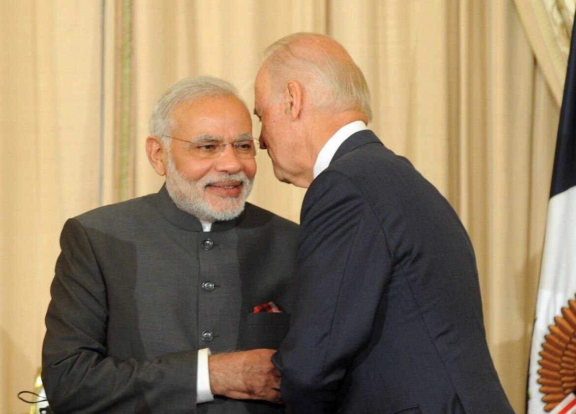 Three Areas For Modi And Biden To Get Working On Right Away