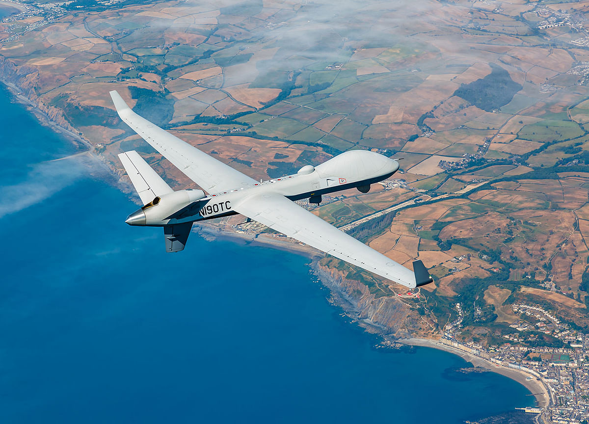 India to Buy First U.S. Armed Drones to Counter China, Pakistan