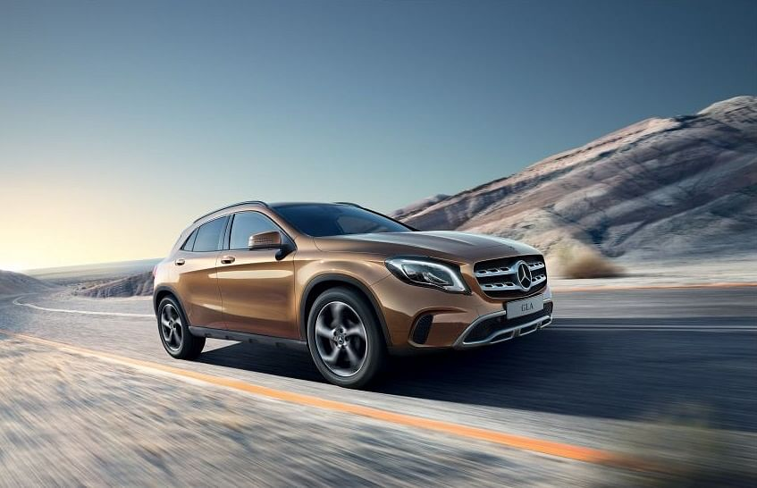 Mercedes Benz GLA currently in the market. Source; Mercedes Benz
