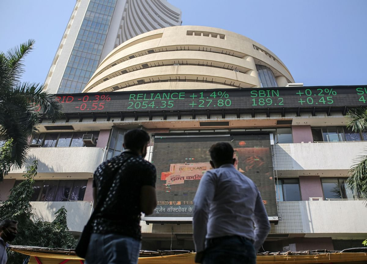 Sensex, Nifty End Lower For The Second Day But Post Gains For The Week