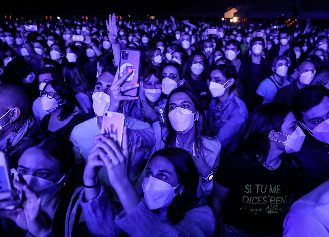 Mass Live Concert Offers a Glimpse of Music in Post-Pandemic Era