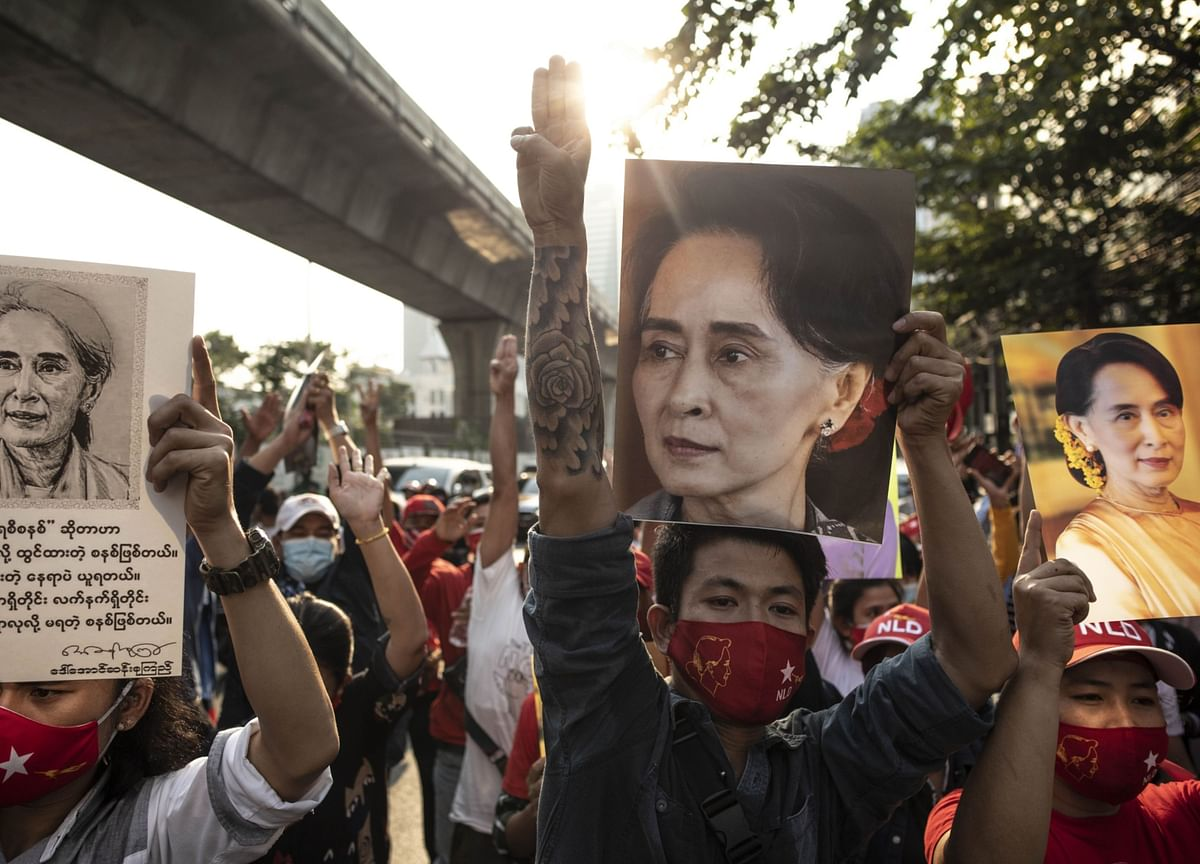 Myanmar Junta Says Live Bullets Won't Be Used on Protesters
