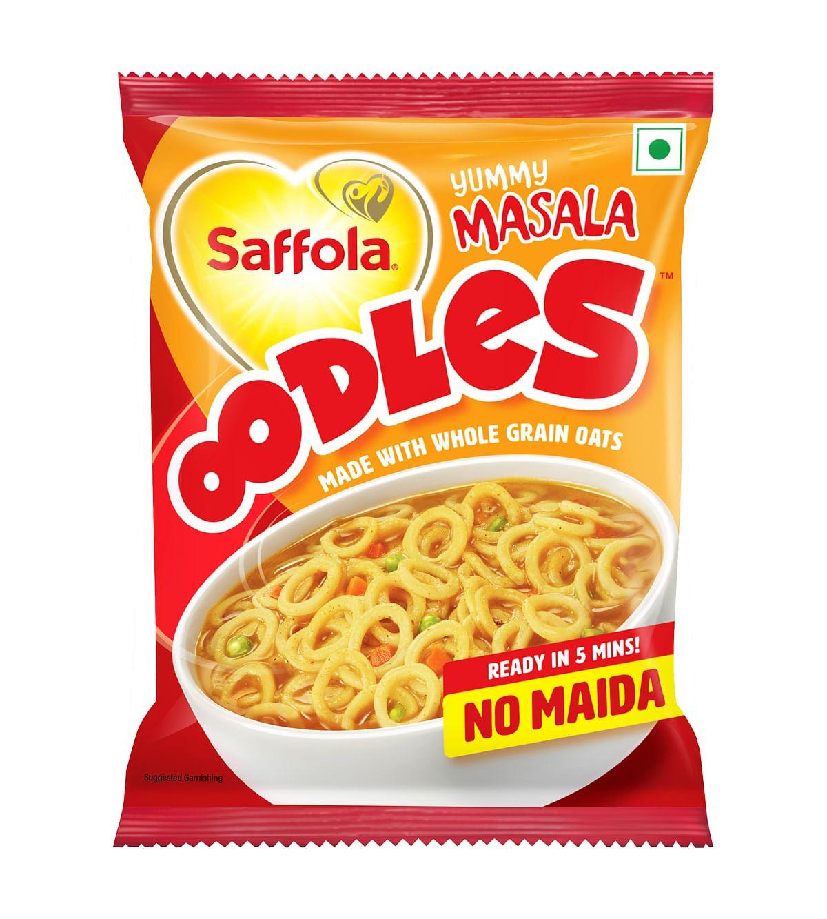 Saffola's Oodles. (Source: Marico Ltd.)