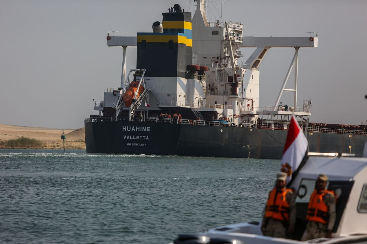 Suez Canal Authorities Say Backlog of Ships Is Now Cleared