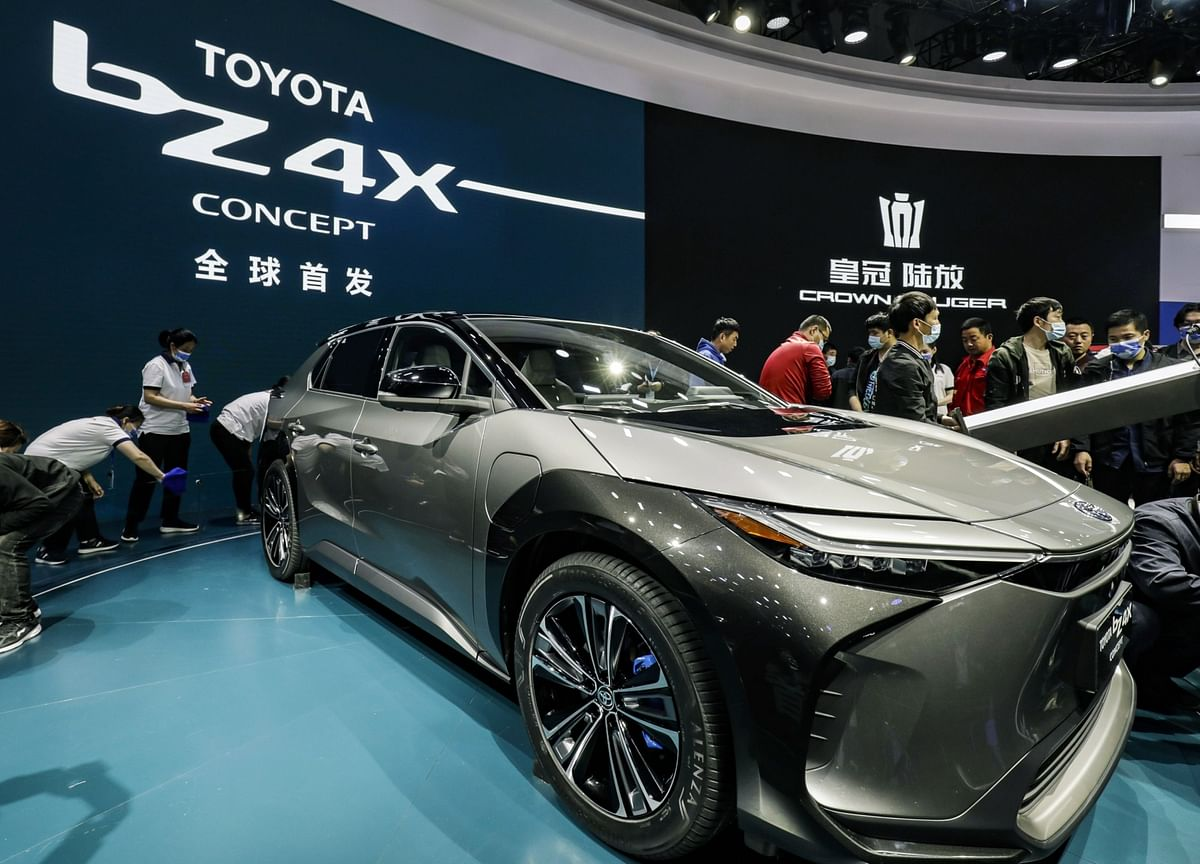Toyota Unveils New EV, Joins Volkswagen's Bet on Electric Future
