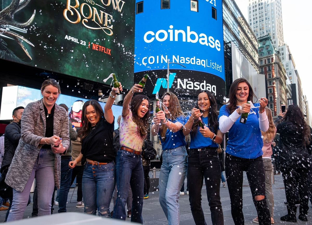 Coinbase's Whipsaw Debut Takes It Past $100 Billion, Then Back